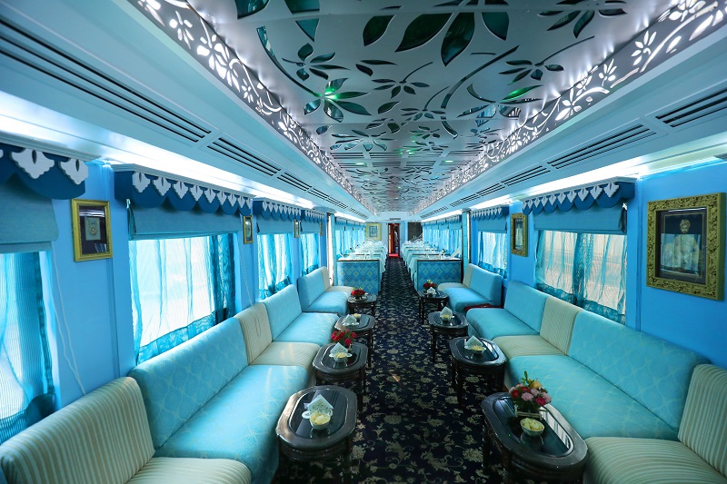 Palace on Wheels Maharah Restaurant